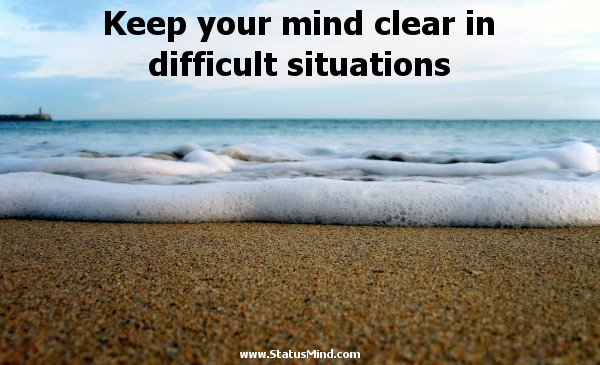 Image result for clear the mind
