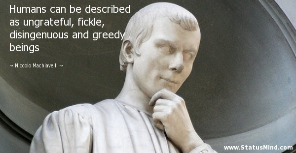 Image result for machiavelli quotes