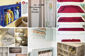 Organizing Laundry Rooms