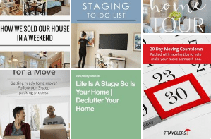 Staging Homes Prior to Move