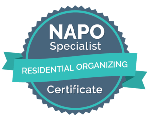 NAPO Specialist Badge - Residential Organizing