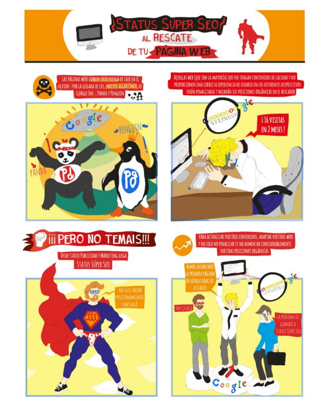 Las aventuras de Status Super Seo 1