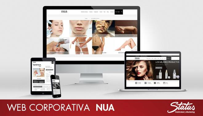 Tienda online web corporativa