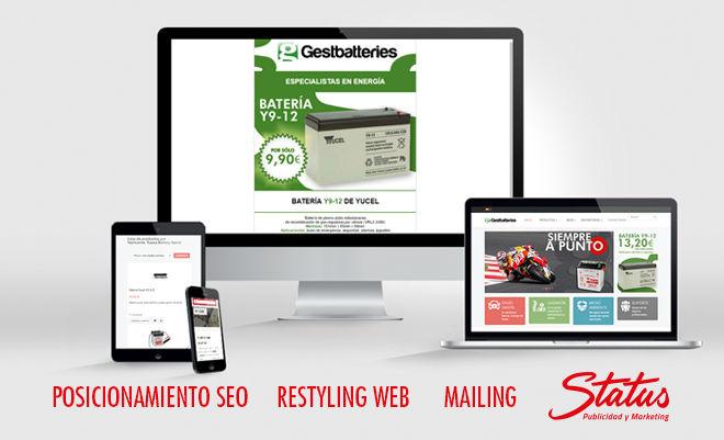 Mejoras tienda online