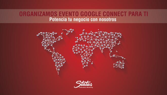 Evento Google en Status