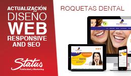 Rediseño web Roquetas Dental
