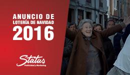 anuncio lotería navidad 2016