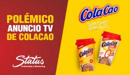 Polémico anuncio Cola Cao