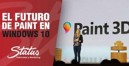 El futuro de Paint en Windows 10