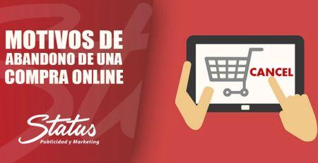 Motivos de abandono de una compra online