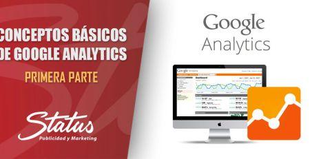 Conceptos básicos Google Anaytics primera parte