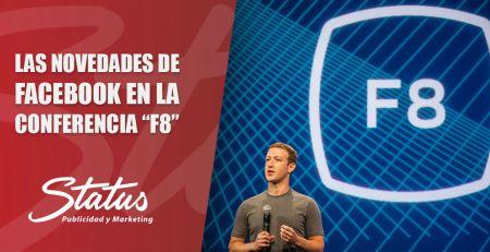 Novedades de Facebook en la conferencia F8