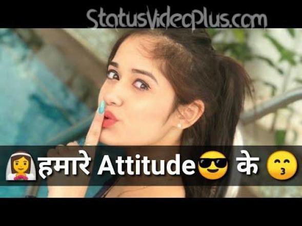 Girls Attitude Status Video