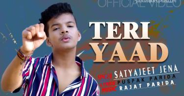 Teri Yaad Song Satyajeet Jena Download Whatsapp Status Video