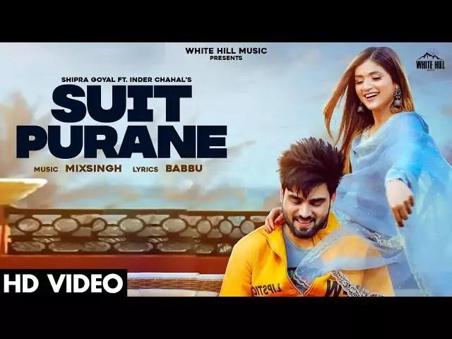 Suit Purane Song Shipra Goyal Inder Chahal Download Whatsapp Status