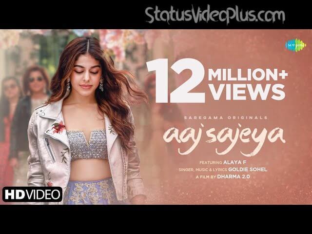 Aaj Sajeya Song Goldie Sohel Download Whatsapp Status Video (1)