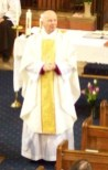 Bishop Mike of Bristol preaching at our Centenary service