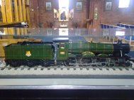 Model Steam Engine - Burton Agnes Hall