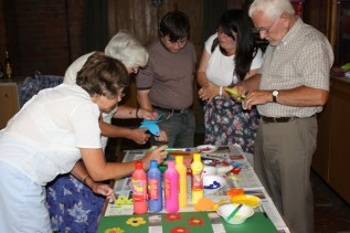 All Age Worship - creating banners