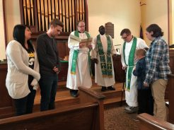 Blessing Gatwoods and Hardins for New Ministry
