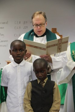 Blessing of the Children and Teachers 2014