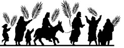 Palm Sunday and Jesus