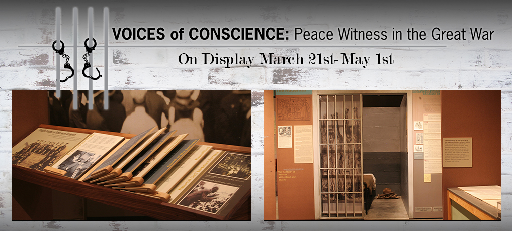 Voices of Conscience on Display March 21st-May 1st