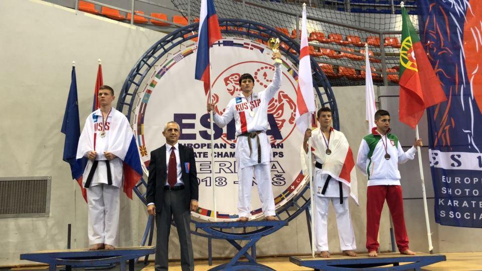 Данила Мащенко — победитель первенства Европы