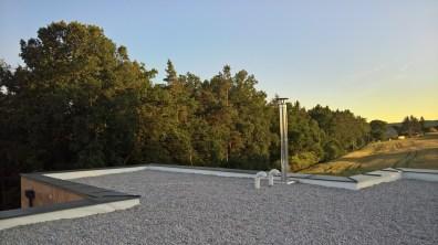 Finální podoba rovné střechy