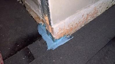 Opracování prostoru kolem dveří