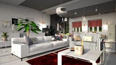 Osvětlení obývacího pokoje