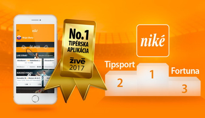 mobilná appka Niké