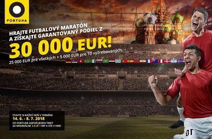 Futbalový maratón na Fortune