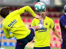 FC Barcelona tréning