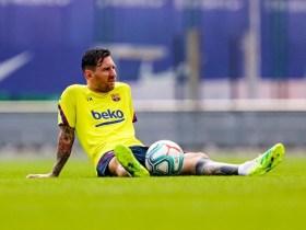 Messi tréning