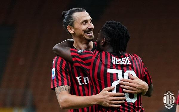 AC Milan zlatan Ibrahimovic