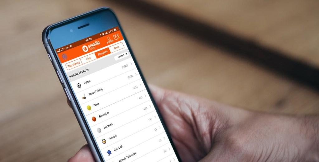 Mobilná aplikácia SYNOTtip