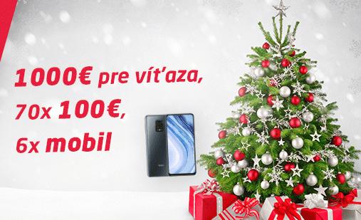 Vianočné hody na SYNOTtipe o tisíce eur a smartfóny!