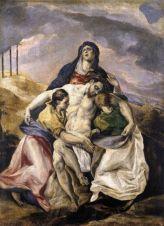 El Greco, Pietà,1571-1576