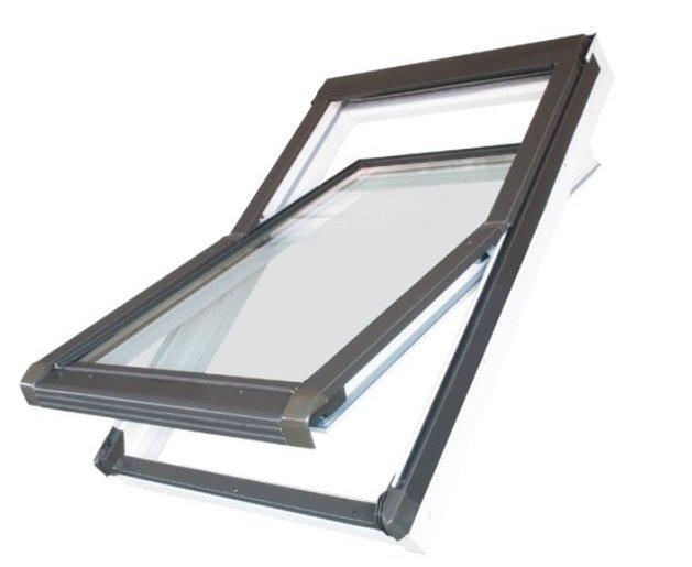 Střešní okno NK PVC E1 – kyvné křídlo