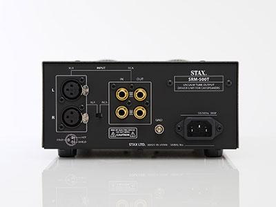 Nuovo Amplificatore STAX SRM-500T - Anteprima italiana SRM-500T_rear