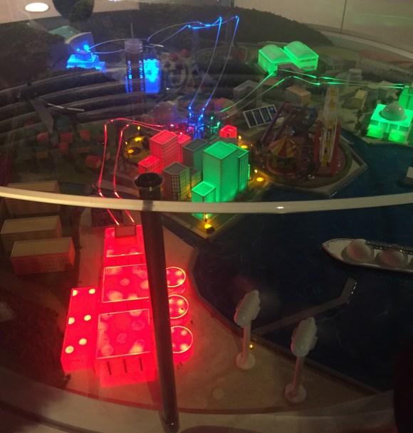 多摩六都科学館の発電自転車