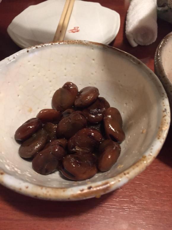 一鶴のしょうゆ豆