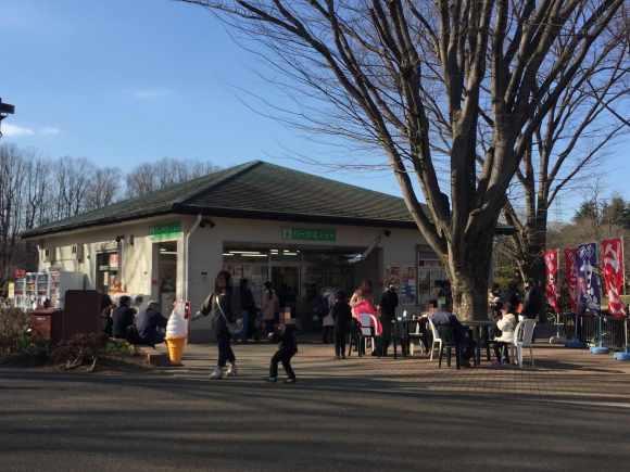 小金井公園 売店