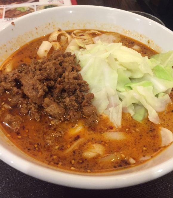 芊品香の刀削麺