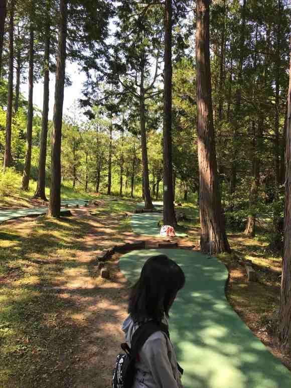 ロマンの森共和国 パターゴルフ