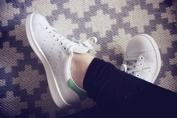 stan smith green 2@Maria Morri