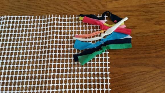 バスマットの作り方1