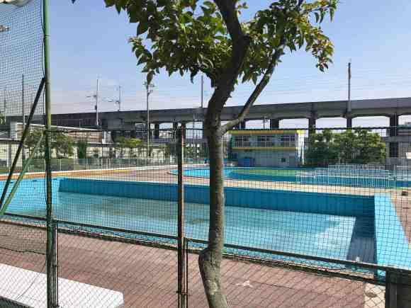 メモリアルパーク プール