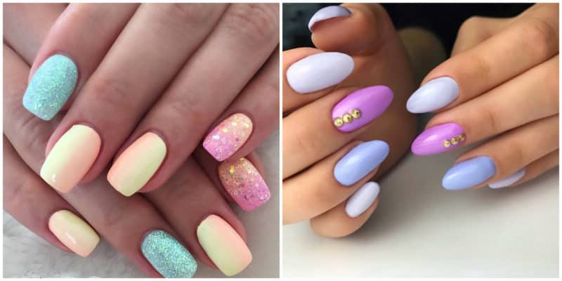Top 10 Bright Colored Summer Nail Art 2020 Ideas And Trends 50